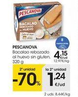 Oferta de Bacalao Pescanova por 4,15€