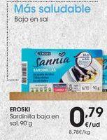 Oferta de Sardinillas eroski por 0,79€