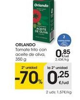 Oferta de Tomate frito Orlando por 0,85€