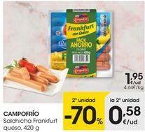 Oferta de Salchichas por 1,95€