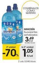 Oferta de Suavizante Mimosín por 3,49€