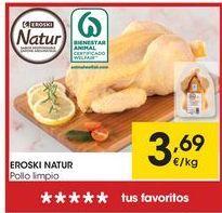 Oferta de Pollo eroski por 3,69€