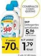 Oferta de Detergente gel Skip por 5,96€