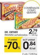 Oferta de Paninis Dr Oetker por 2,79€