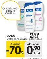 Oferta de Detergente gel Sanex por 2,99€