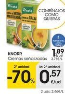 Oferta de Cremas Knorr por 1,89€