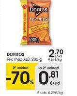 Oferta de Doritos por 2,7€