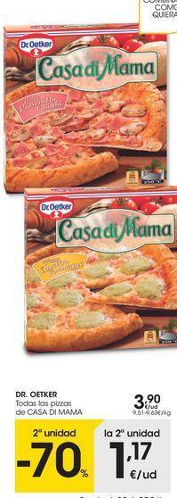 Oferta de Pizza congelada Dr Oetker por 3,9€