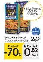 Oferta de Caldo Gallina Blanca por 2,75€