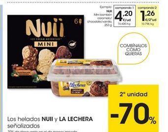 Oferta de Helados Nuii por 4,2€