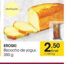 Oferta de Bizcocho eroski por 2,5€