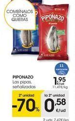 Oferta de Pipas Piponazo por 1,95€
