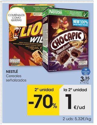 Oferta de Cereales Nestlé por 3,35€