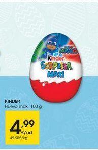 Oferta de Golosinas Kinder por 4,99€