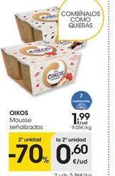 Oferta de Mousse OIKOS por 1,99€