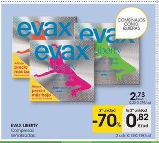 Oferta de Compresas Evax por 2,73€