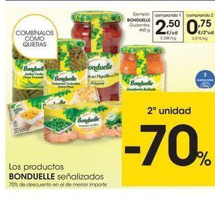 Oferta de Guisantes Bonduelle por 2,5€