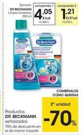 Oferta de Limpiadores Dr. Beckmann por 4,05€
