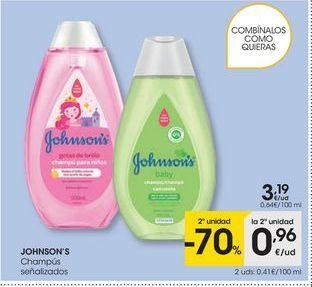 Oferta de Champú Johnson's por 3,19€