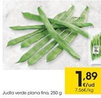 Oferta de Judías verdes por 1,89€