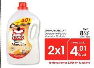 Oferta de Detergente gel Omino Bianco por 8,02€