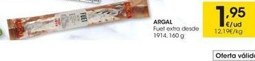 Oferta de Fuet Argal por 1,95€