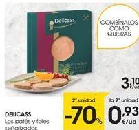 Oferta de Paté Delicass por 3,1€