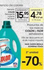Oferta de Detergente líquido Colon por 15,95€