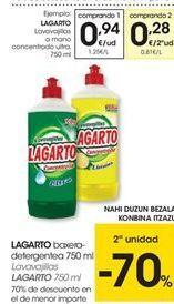 Oferta de Detergente lavavajillas Lagarto por 0,94€