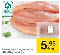 Oferta de Pechuga de pollo por 5,95€