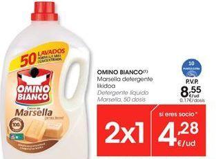 Oferta de Detergente gel Omino Bianco por 8,55€