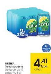 Oferta de Té helado Nestea por 4,41€