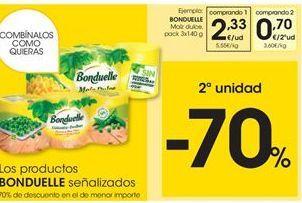 Oferta de Maíz dulce Bonduelle por 2,33€
