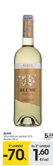 Oferta de Vino blanco Blume por 5,33€