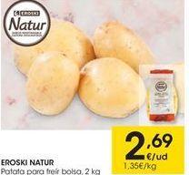 Oferta de Patatas eroski por 2,69€