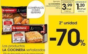Oferta de Croquetas La Cocinera por 3,99€