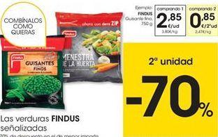 Oferta de Guisantes finos congelados Findus por 2,85€