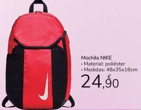 Oferta de Mochila Nike  por 24,9€