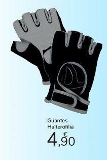 Oferta de Guantes halterofilia carrefour por 4,9€