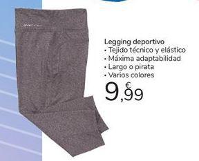 Oferta de Legging deportivo por 9,99€
