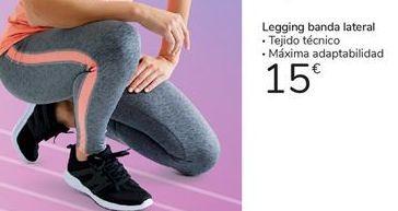 Oferta de Legging banda lateral por 15€