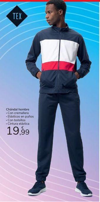 Oferta de Chándal hombre por 19,99€
