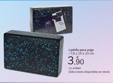 Oferta de Ladrillo para yoga carrefour por 3,9€