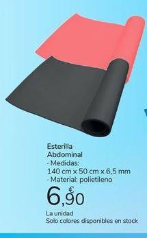 Oferta de Esterilla abdominal carrefour por 6,9€
