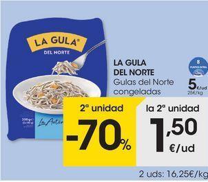 Oferta de Gulas La Gula del Norte por 5€