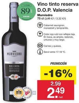 Oferta de Vino tinto por 2,99€