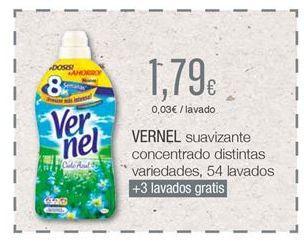 Oferta de Suavizante Vernel por 1,79€