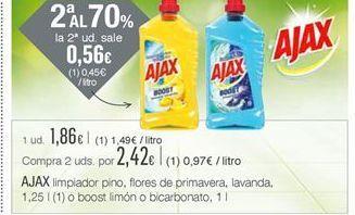 Oferta de Limpiadores Ajax por 1,86€
