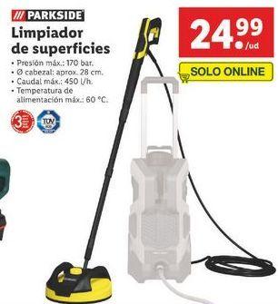 Oferta de Limpiador a vapor Parkside por 24,99€