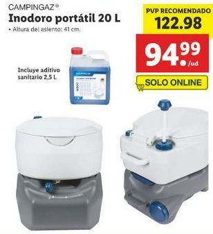 Oferta de Inodoro campingaz por 122,98€